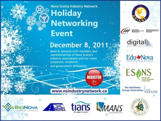 NSIN Holiday Event graphic